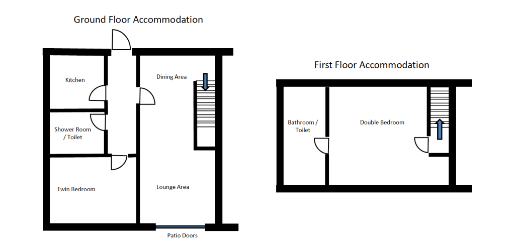 floor plan conway cottage